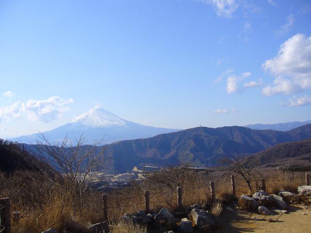 箱根大湧谷から見た富士山2