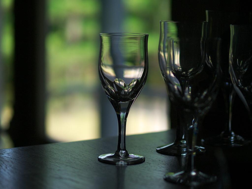 グラス・陰影