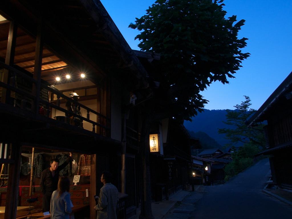 妻籠宿の夜