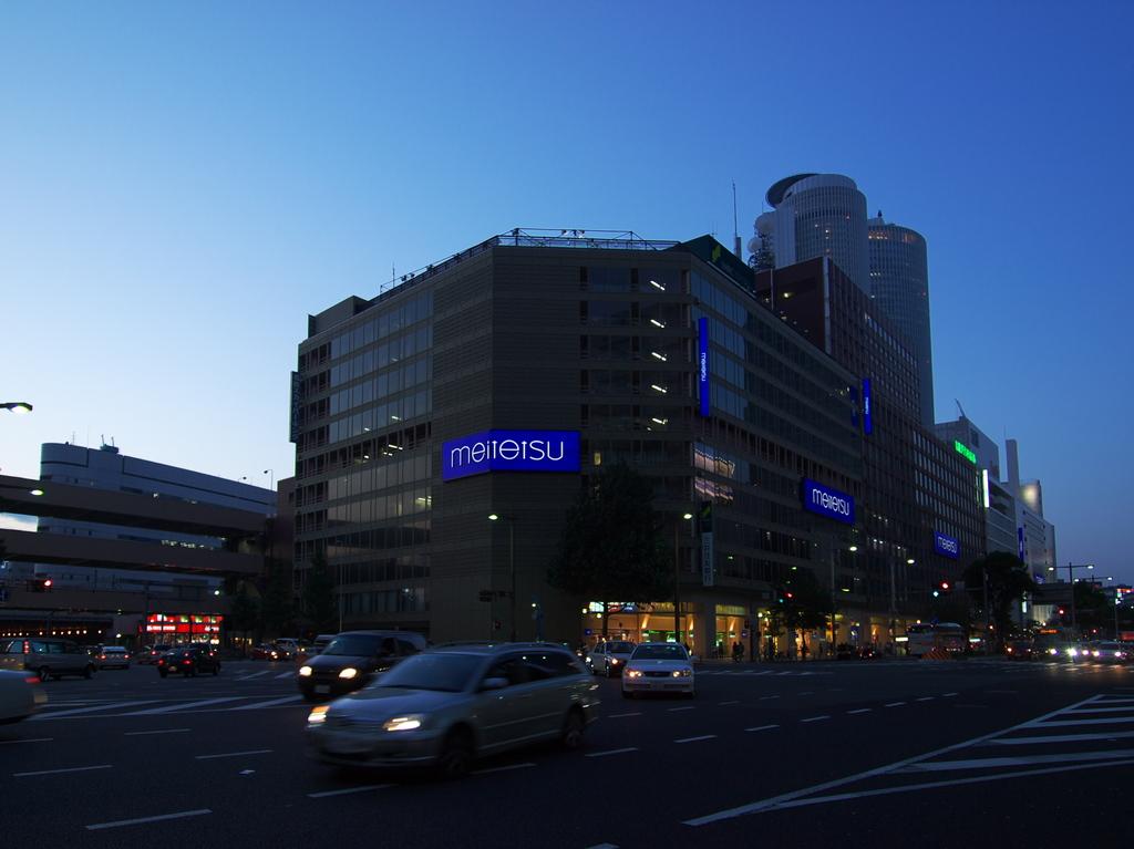 名駅笹島界隈にて