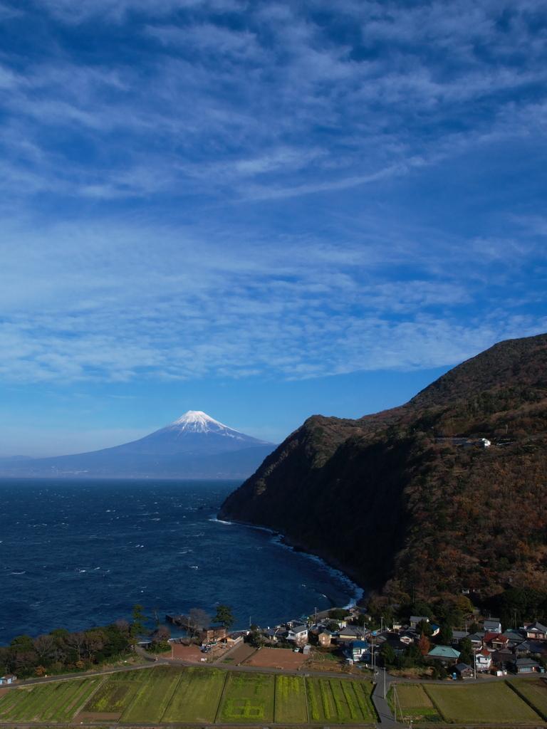 井田にて富士