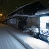 雪中自販機