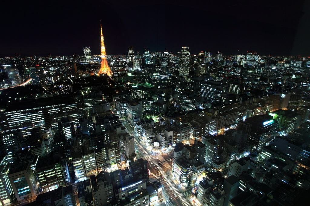 東京夜景・横