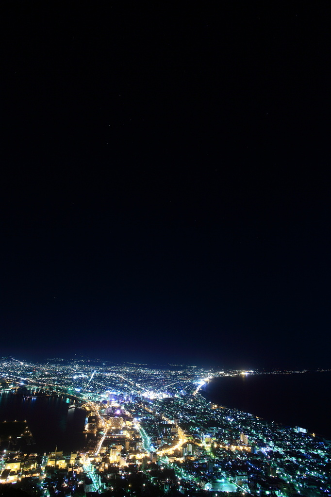 函館山からの夜景1
