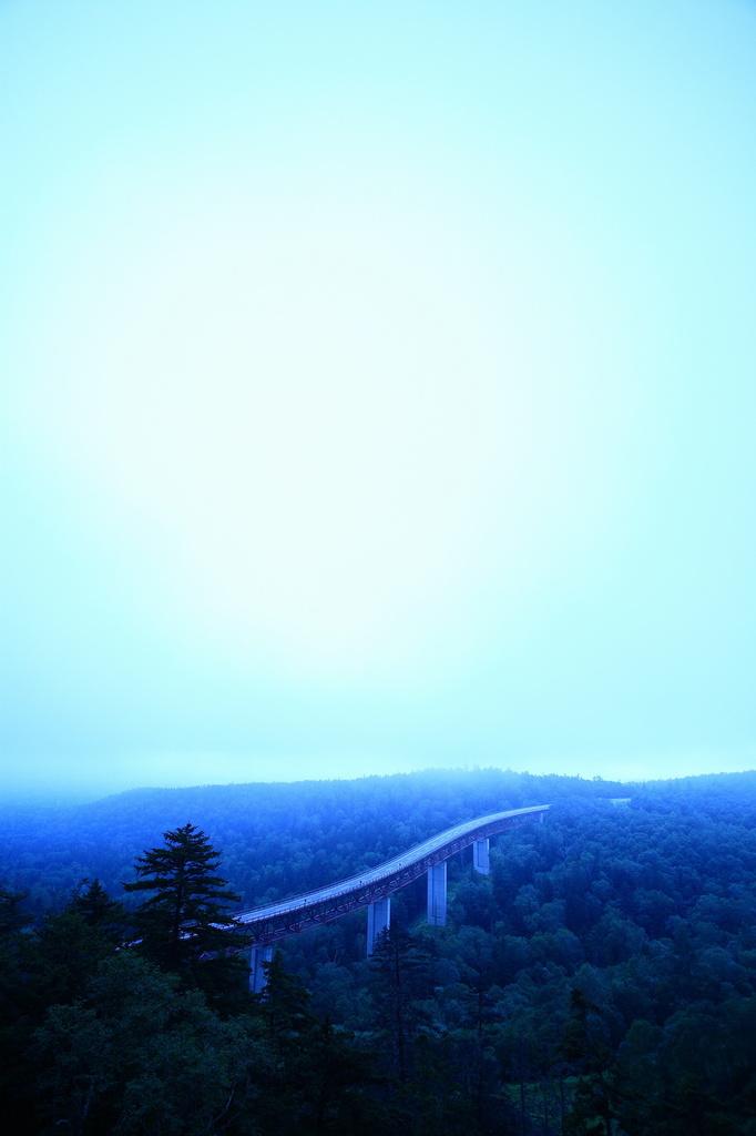 霧の松見大橋