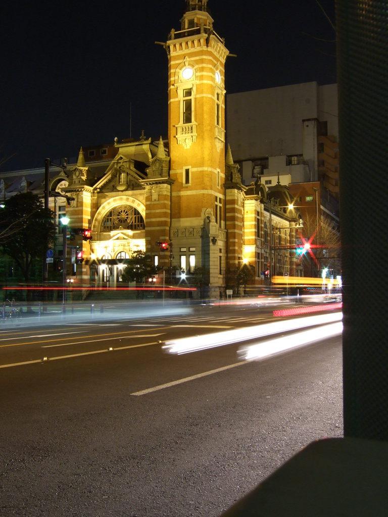 夜の開港記念会館@関内