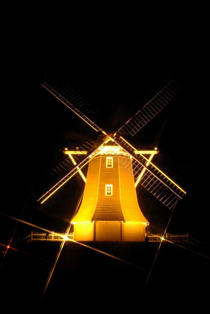オランダ風風車