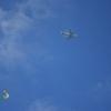 飛行機と凧