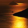 屋島の夕日①