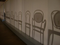 ウィーン 応用美術館 椅子の展示