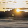 雲海の陽光