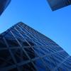 24ミリ Street snap 都会の空を見上げ…