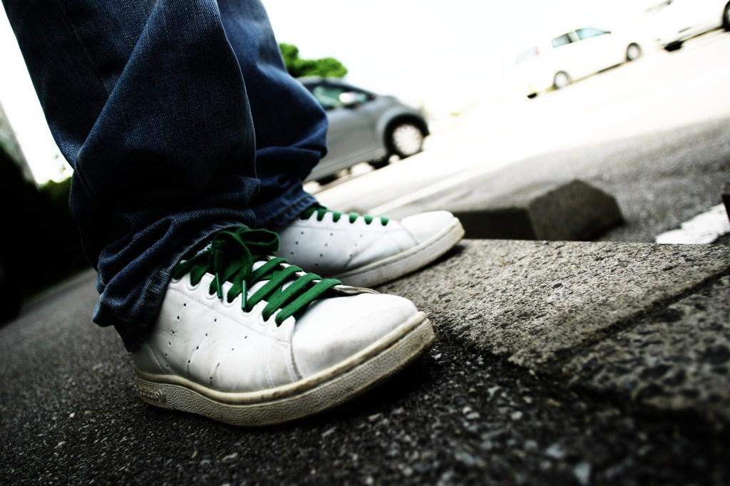 かっこいい靴の撮り方