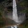 虹と華厳の滝