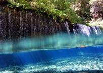 滝の中の光滝