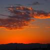 伊丹空港の夕景