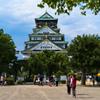 大阪城の広場