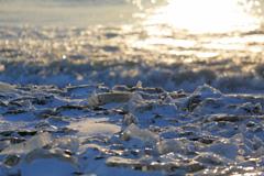 宝石の埋まる海岸