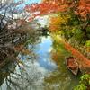 水郷・八幡堀の秋3