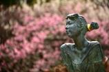 植物園の美少女像3