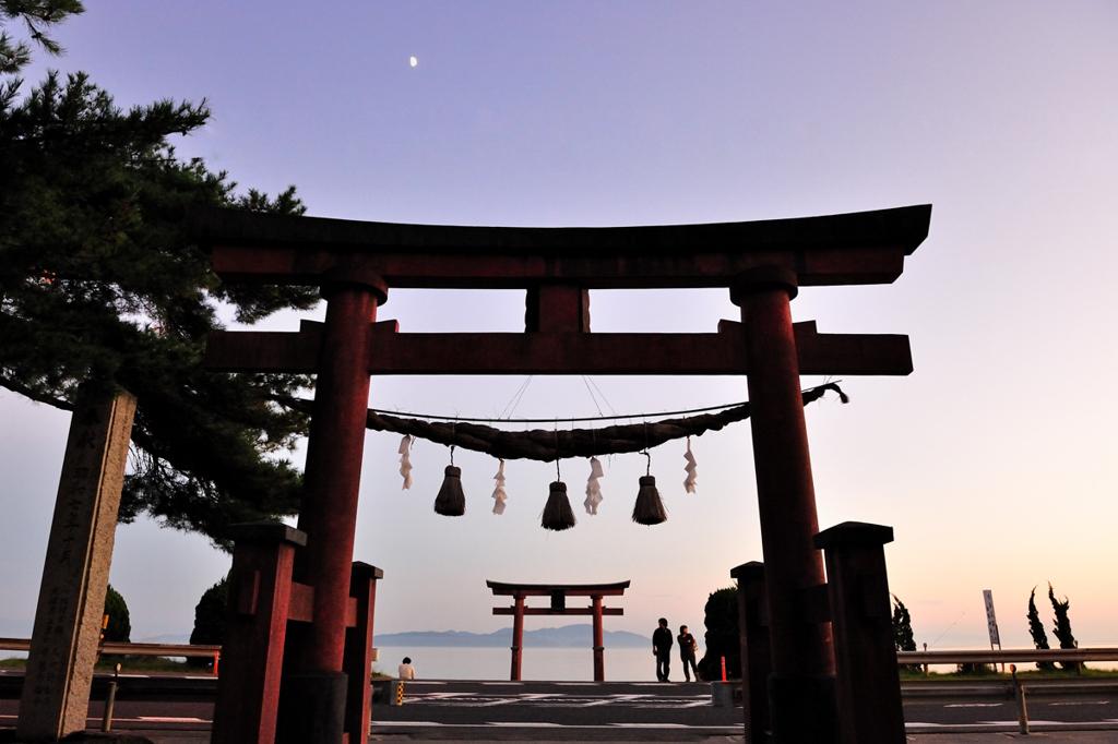 琵琶湖たそがれ