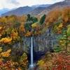 錦秋 大白川・白水の滝