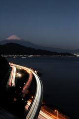 さったから富士をみる