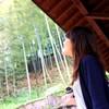 嵐山 × 女子
