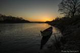 木曽川の夕暮れⅢ