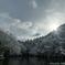 初雪の候(奧山三ツ池)上池