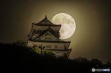 中秋の名月と岐阜城