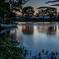 木曽川水園の夕暮れ(木舟乗船場)