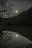 上弦の月夜