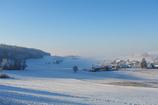 雪に包まれた村
