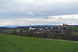 村ごとにある教会