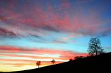 田舎の夕焼け 1