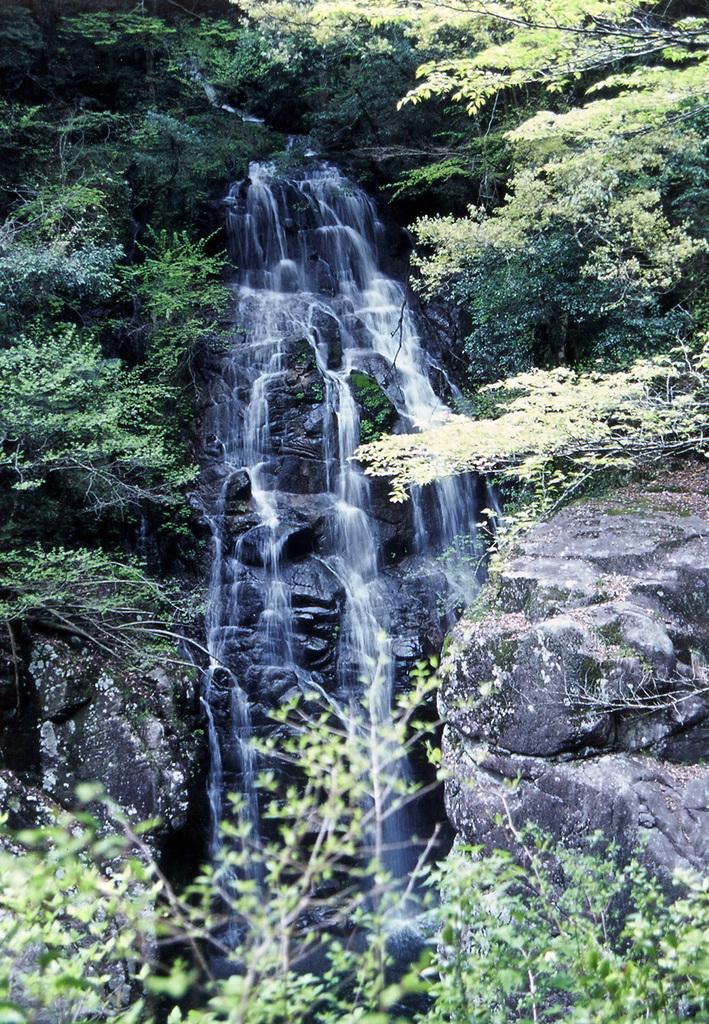 三段峡 姉妹滝