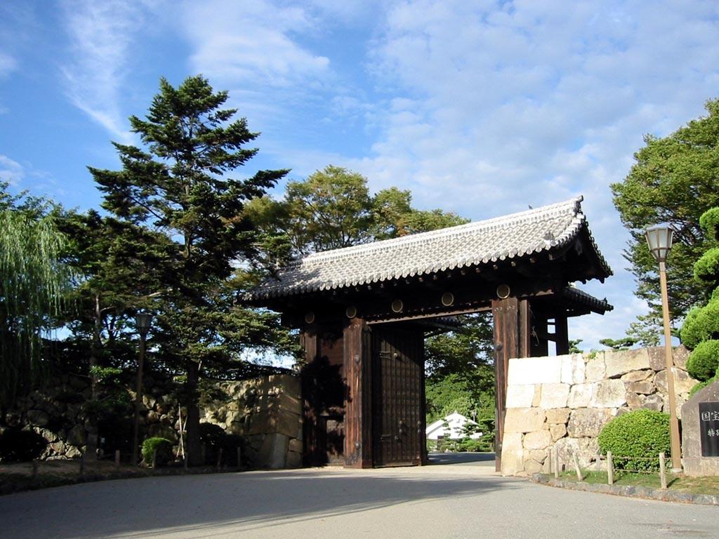 姫路城表門