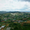 Đà Lạt市を見下ろす風景