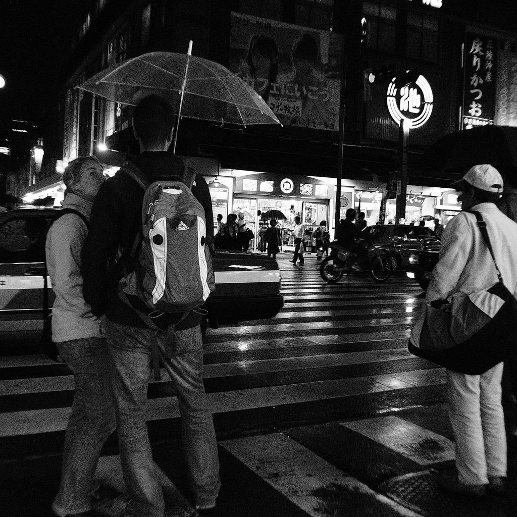 アメ横 in rain
