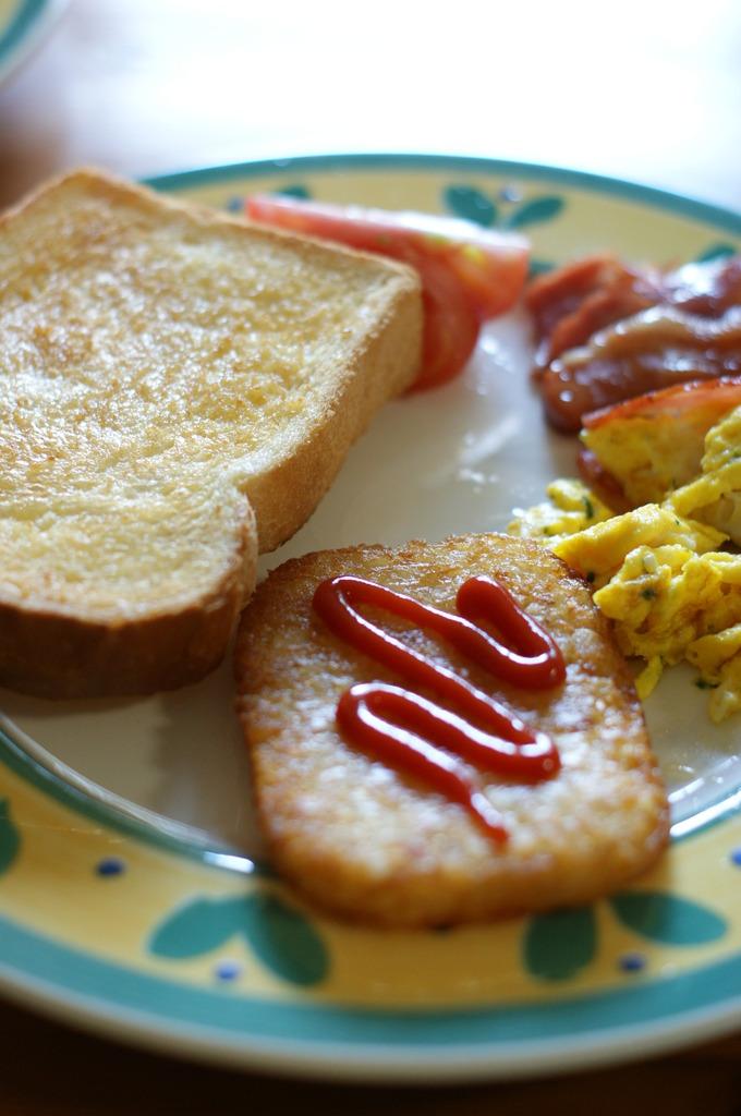 ある休日の朝食