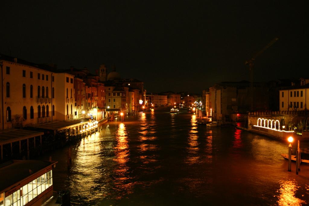 ベネチアの夜