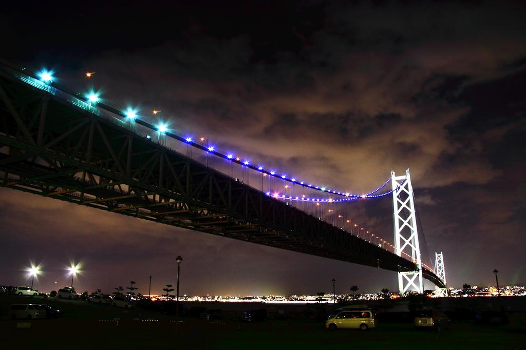 Pearl Bridge from AWAJI