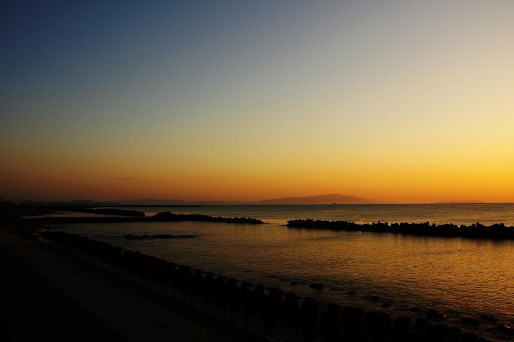 at daybreak
