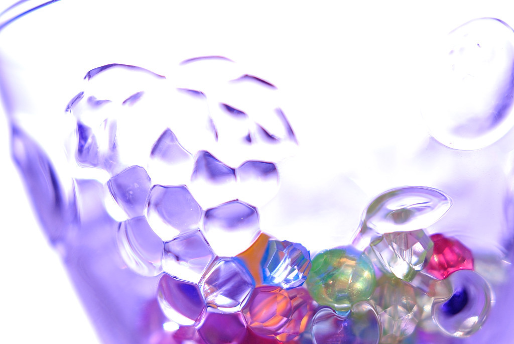 Beads in Glass