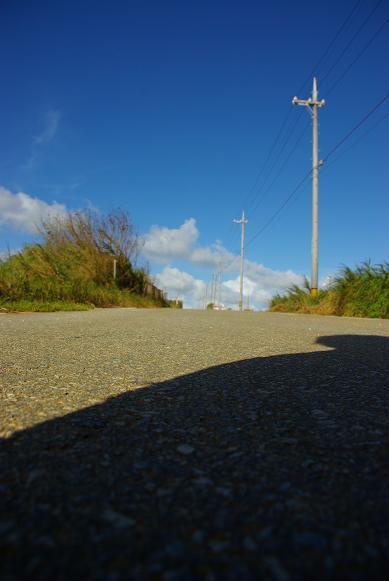 宮古島の路と空