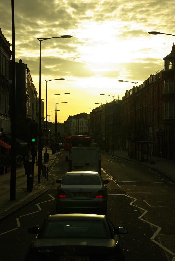ロンドンの朝(1)
