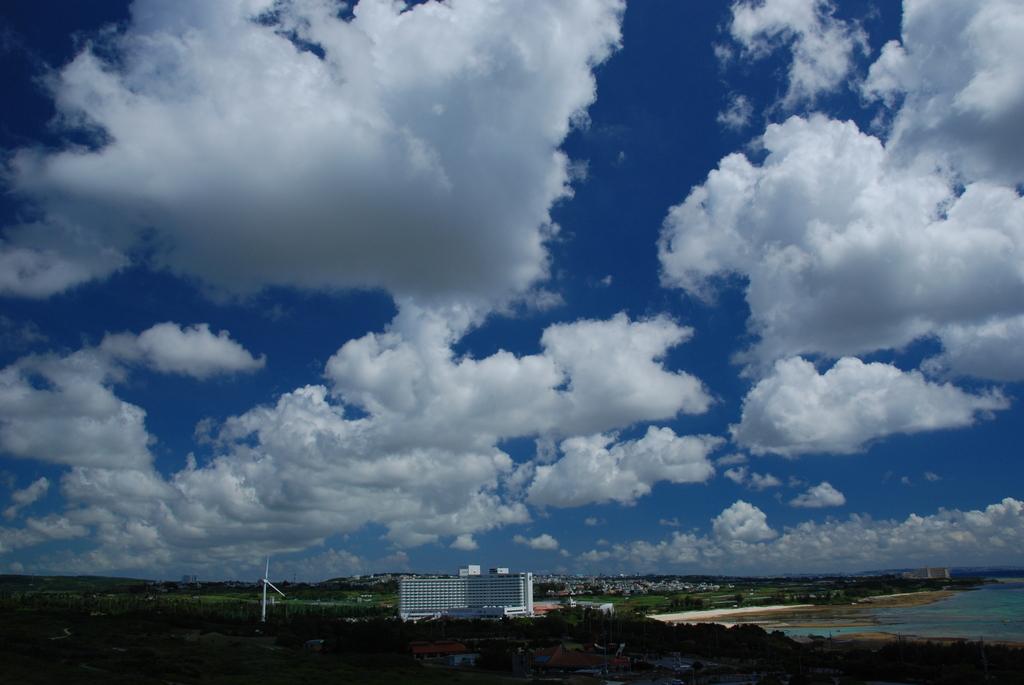 灯台から見た青空