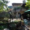 工房の中庭