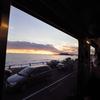 江ノ電からの夕日